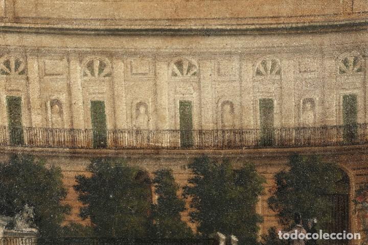 Arte: Óleo sobre lienzo Antiguo Teatro de la Opera de Madrid firmado José Massó hacia 1900 - Foto 7 - 263042355