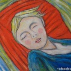Arte: DREAM 2020 PABLO PLAYA 45,5X37,5X0,5 CM OLEO. Lote 263052400