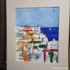 Arte: ANTIGUA PINTURA ALICANTINA PINTOR GERARD CASTILLO DE ALICANTE Y RAVAL ROIG. Lote 263135275