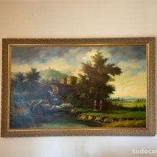 Arte: ÓLEO ENMARCADO PAISAJE J. DEVIS. Lote 263163800
