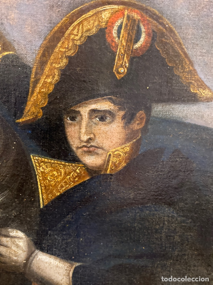 Arte: Cuadro original oleo sobre tela. Firmado. De Napoleon Bona Parte - Foto 7 - 263523280