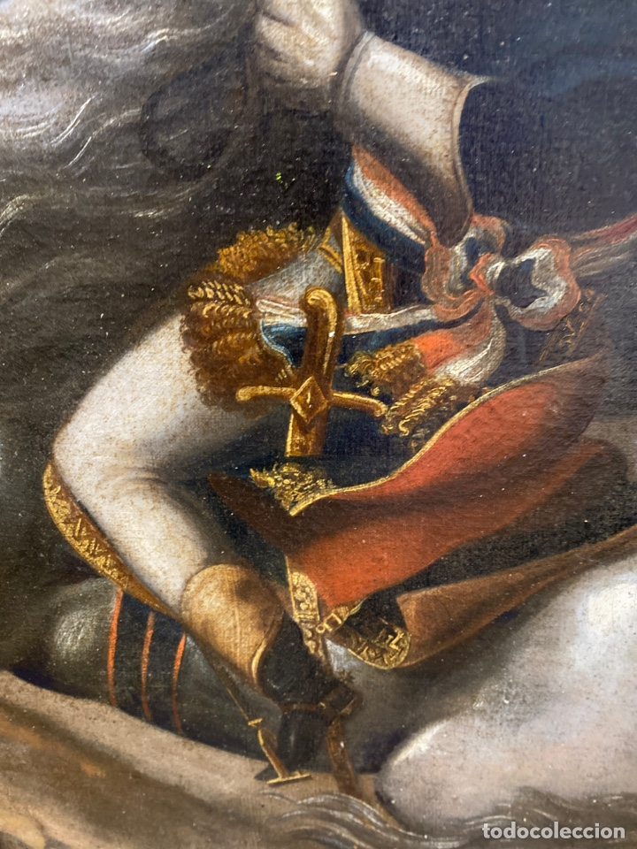 Arte: Cuadro original oleo sobre tela. Firmado. De Napoleon Bona Parte - Foto 9 - 263523280