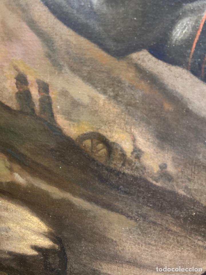 Arte: Cuadro original oleo sobre tela. Firmado. De Napoleon Bona Parte - Foto 10 - 263523280