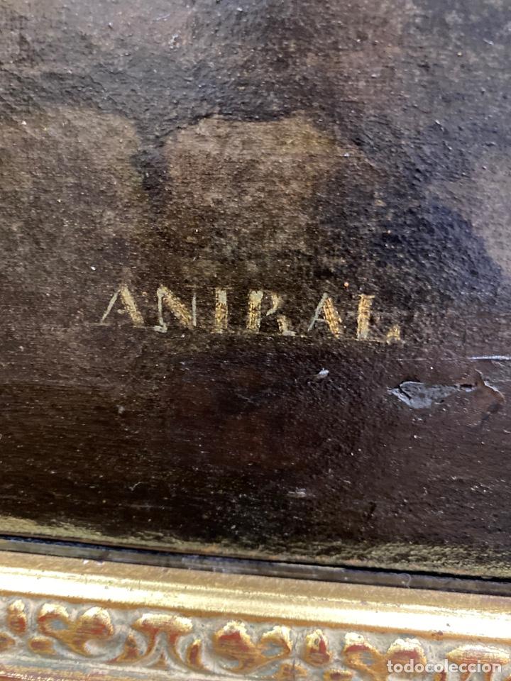 Arte: Cuadro original oleo sobre tela. Firmado. De Napoleon Bona Parte - Foto 12 - 263523280