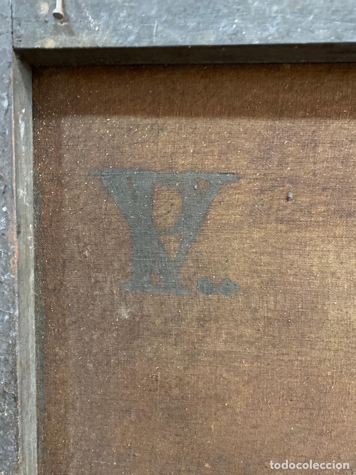 Arte: Cuadro original oleo sobre tela. Firmado. De Napoleon Bona Parte - Foto 16 - 263523280