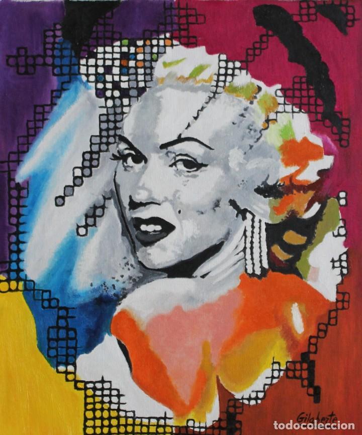 Arte: Marilyn obra de Gilaberte - Foto 2 - 263555080