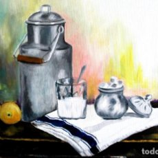 Arte: LECHERA OBRA DE GILABERTE. Lote 263555690