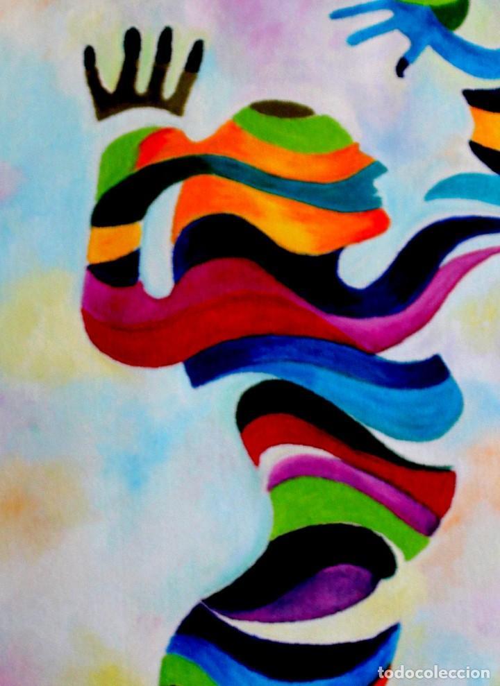 DANZA OBRA DE GILABERTE (Arte - Pintura Directa del Autor)
