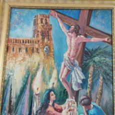 Arte: OLEO SOBRE LIENZO PINTOR ALICANTINO SIMARRO. Lote 264140568