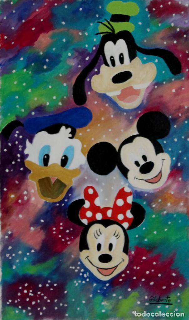 Arte: Disney obra de Gilaberte - Foto 2 - 264162168