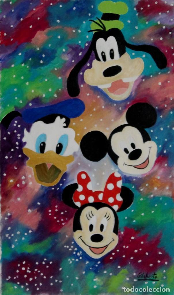 Arte: Disney obra de Gilaberte - Foto 3 - 264162168