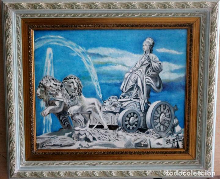 CIBELES OBRA DE GILABERTE INCLUYO MARCO (Arte - Pintura Directa del Autor)