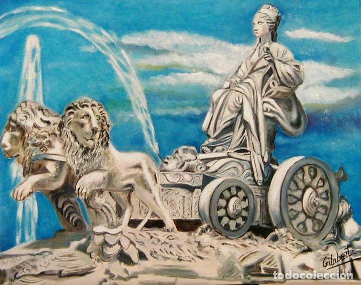 Arte: Cibeles obra de Gilaberte incluyo marco - Foto 3 - 264162840