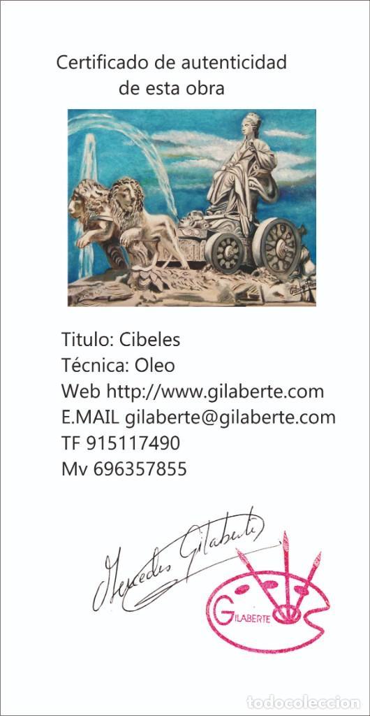 Arte: Cibeles obra de Gilaberte incluyo marco - Foto 4 - 264162840