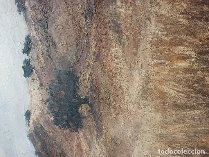 Arte: Escena rural. Óleo sobre lienzo firmado y fechado. PF - Foto 3 - 264177516