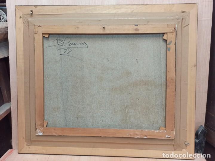 Arte: Escena rural. Óleo sobre lienzo firmado y fechado. PF - Foto 7 - 264177516