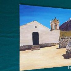 Arte: ÓLEO SOBRE TABLILLA CUADRO TEIDE. Lote 264177548