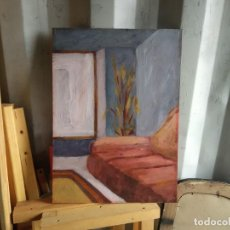 Arte: CUADRO SALÓN OLEO. Lote 264223864