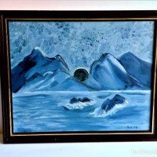 Arte: PINTURA AL OLEO - 46 X 38.CM. Lote 264243976