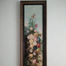 Arte: BODEGÓN DE FLORES. S.XIX. JOSÉ CANAL GORDO.. Lote 264746799