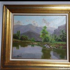 Art: ÓLEO SOBRE LIENZO FIRMADO/PAISAJE. Lote 264983744
