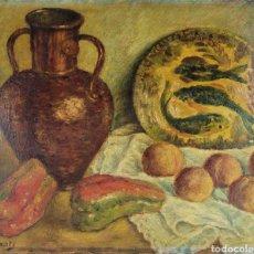 Arte: BODEGÓN POR PLAIXATS APROX 1940. Lote 265189979