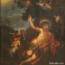Arte: HERMOSO SAN JUAN BAUTISTA DEL SIGLO XVII. Lote 265195629
