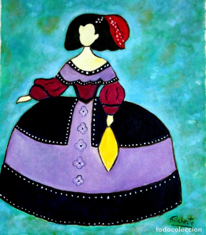 MENINAS OBRA DE GILABERTE (Arte - Pintura - Pintura al Óleo Contemporánea )