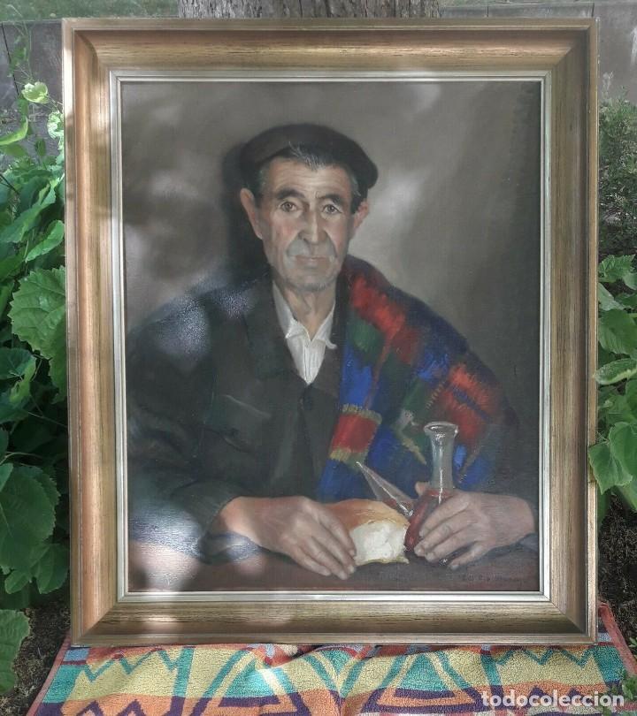 OLEO DEL PINTOR MADRILEÑO JOSÉ Mª DEL RÍO MORENO (Arte - Pintura - Pintura al Óleo Moderna sin fecha definida)