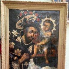 Arte: S. XVIII - SAN ANTONIO CON EL NIÑO JESUS. Lote 265648749