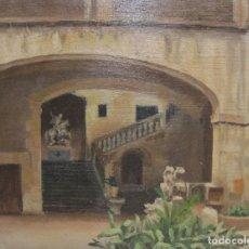 Arte: DOLORES (LOLITA) CALLOL CHEVALIER. PATI DE L'ARXIU DE LA CORONA D'ARAGÓ. 1916. BARCELONA.. Lote 265691009