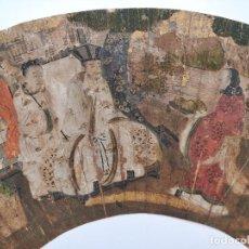 Arte: MAGISTRAL PINTURA JAPONESA ORIGINAL DEL SIGLO XVI, CALIDAD DE MUSEO, SENMENZU, MUY RARO. Lote 32367920