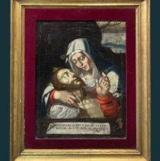 Arte: MAGNIFICA PIEDAD ESC. CASTELLANA S. XVI. Lote 266143978