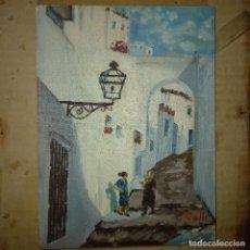 Arte: ANTIGUA PINTURA AL ÓLEO FIRMADA COLL. Lote 266150708