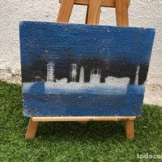 Arte: OLEO SOBRE TABLA . BARCELONA . CON AUTOR DESCONOCIDO Y SIN FIRMAR. Lote 266507068