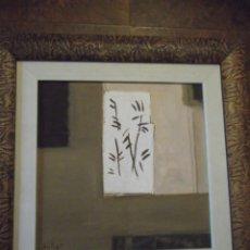 Arte: HERMOSO CUADRO DEL ARTISTA MELLER (ÓLEO) 45X45 CM TODAVÍA TIENE EL PRECIO EN QUE LO COMPRÉ DETRÁS. Lote 266580873