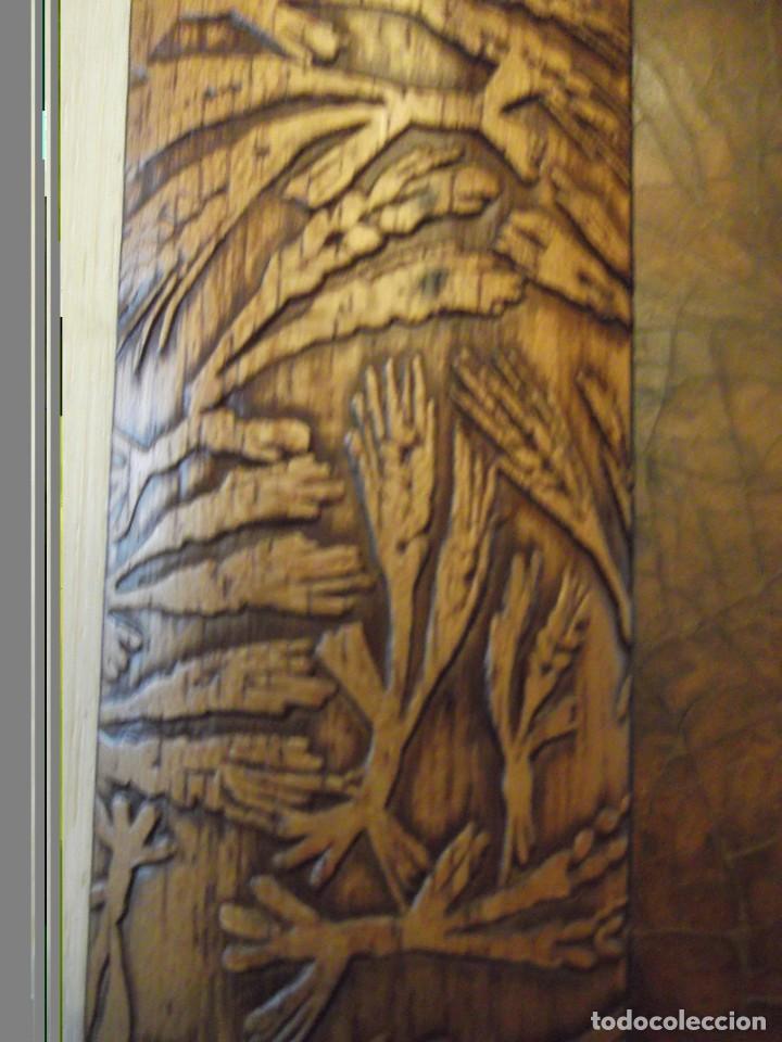 Arte: Hermoso Cuadro del Artista Meller (óleo) 45x45 cm Tiene precio en que lo compré hace años detrás - Foto 6 - 266580873