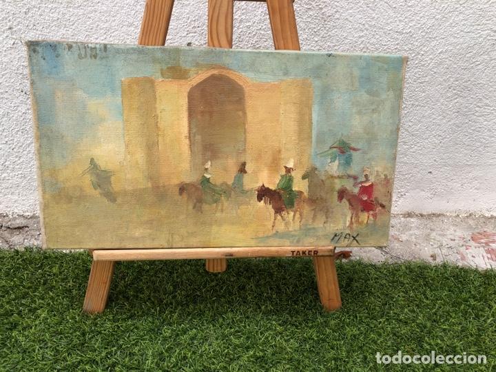 ÓLEO SOBRE LIENZO FIRMADO MAX (Arte - Pintura - Pintura al Óleo Moderna sin fecha definida)