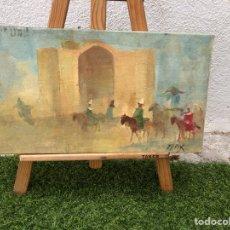 Arte: ÓLEO SOBRE LIENZO FIRMADO MAX. Lote 266709023