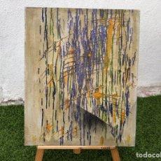 Arte: ÓLEO SOBRE LIENZO DE ESTILO ABSTRACTO SIN FIRMAR. Lote 266717993