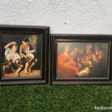 Arte: REPRODUCCIÓN DE DOS OBRAS MAESTRAS DEL SIGLO XVII. Lote 266840909