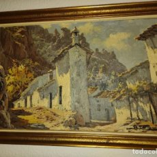 Arte: PAISAJES AL OLEO DE ALFONSO PARRAS VILCHEZ. Lote 267017824