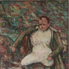 Arte: RETRATO DE NAPOLEÓN BONAPARTE. VERA NILSSON (SUECIA 1888-1979). ÓLEO SOBRE TABLA. MIDE 60 X 40 CM.. Lote 267129794