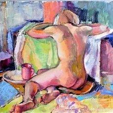 Arte: ESCUELA EUROPEA JOVEN POSANDO L.BORGHELEVENS. Lote 267412234