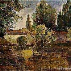 Arte: CONVENTO EN SIGUENZA IGNACIO HERNANDEZ MADRID 1938. Lote 267414504