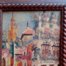 Arte: FIRMAS ILEGIBLES- RINCONES DE SEVILLA-. Lote 267735039