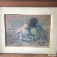 """Arte: """"OTELO Y DESDÉMONA"""" OBRA INÉDITA DE JOAQUÍN MARTINEZ DE LA VEGA. Lote 267741839"""