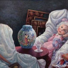 Arte: EL JARRON CHINO JOSE ENRIQUE GONZALEZ 1951 - 1999. Lote 267838419