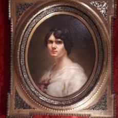 Arte: LYDA GAZTINE, RETRATO DE DAMA 1913. Lote 268285579