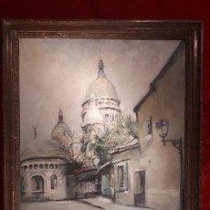 Arte: VISTA DE PARÍS. Lote 268294049